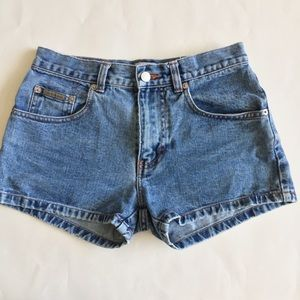 Vintage Calvin Klein Jean Shorts Sz 1